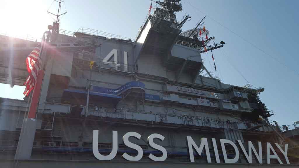 O que fazer em San Diego: USS Midway Museum