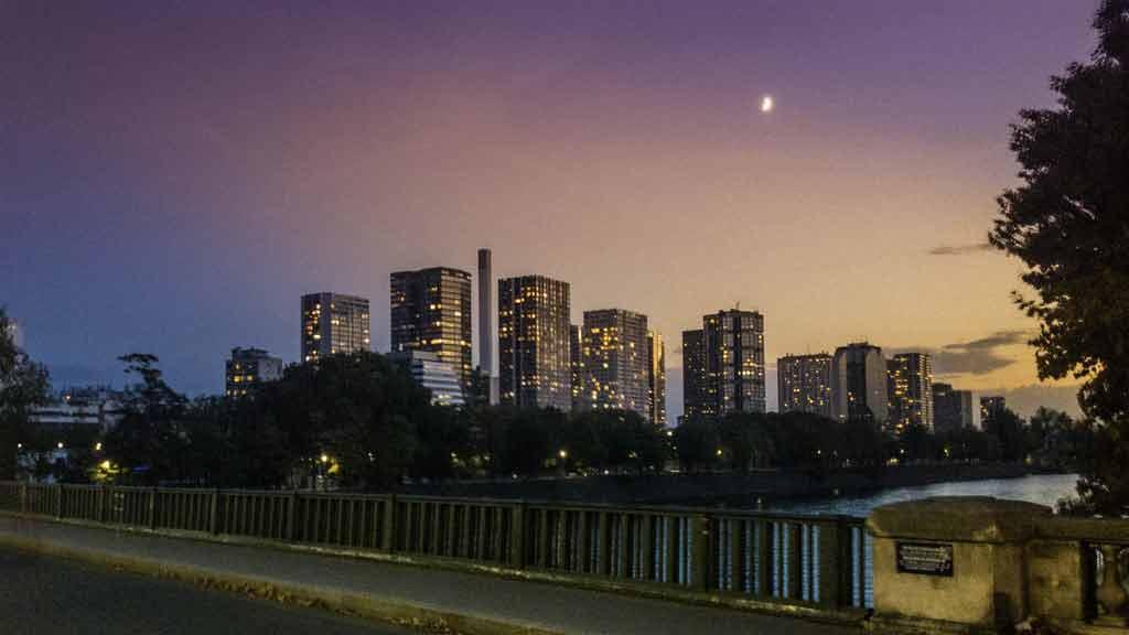 Visitar Paris à noite