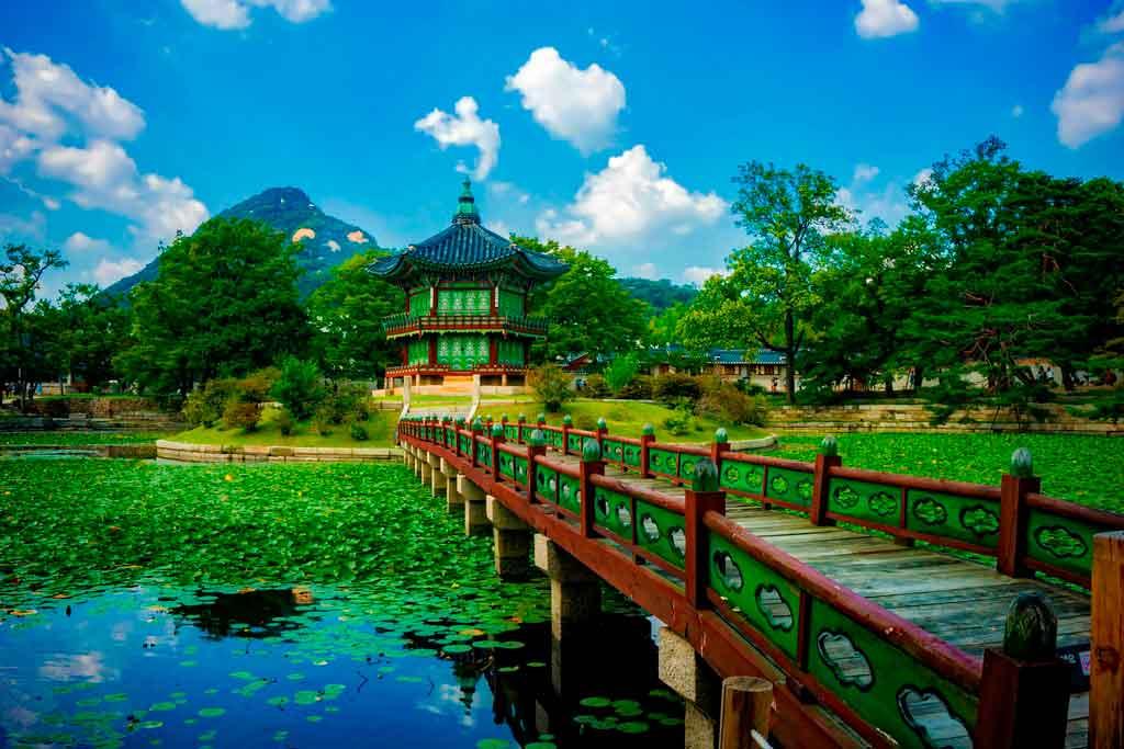 parques da coreia do sul