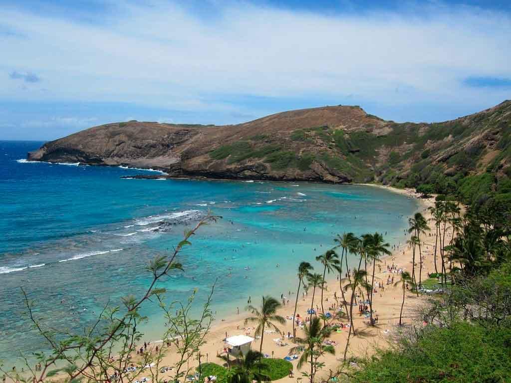 praias do havai hanauma bay
