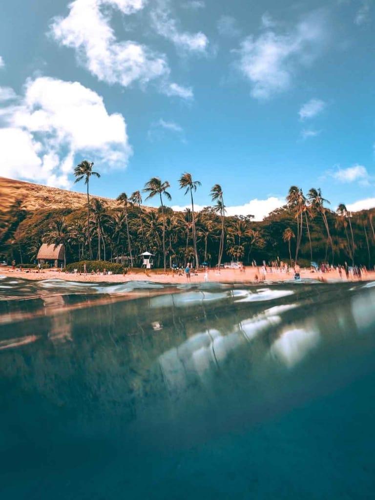 praias do havai mais bonita