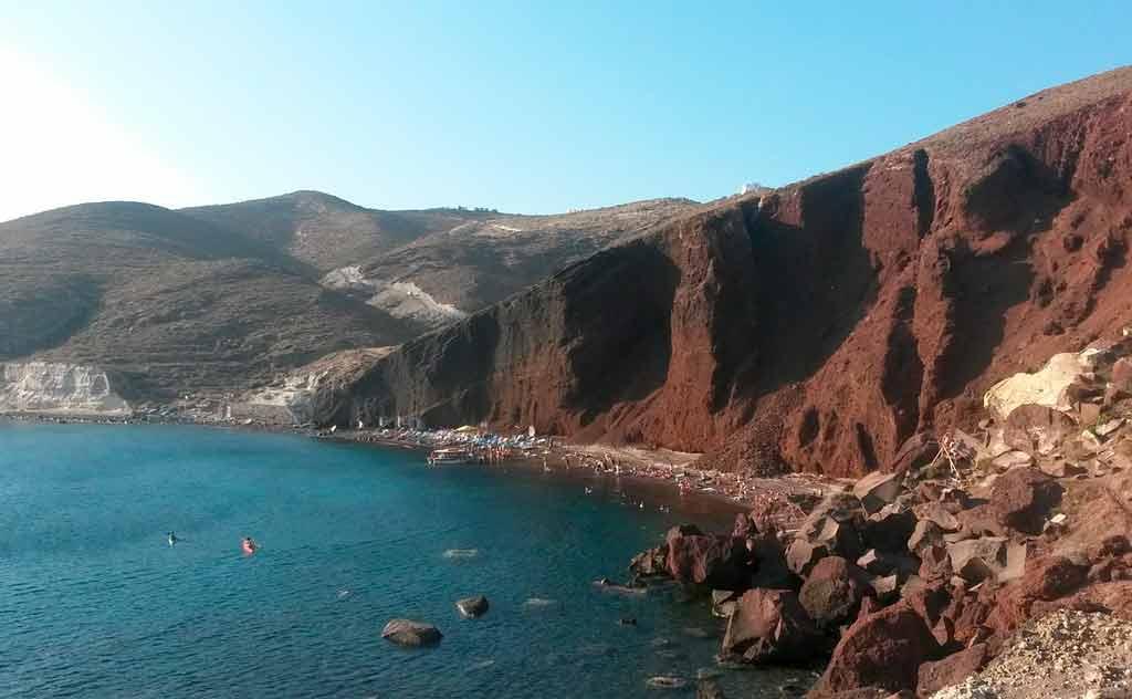 Santorini Grécia: visitar praias incríveis