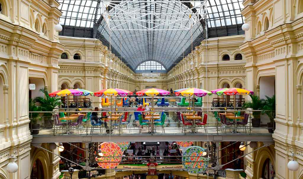 Onde fazer compras em São Petersburgo?