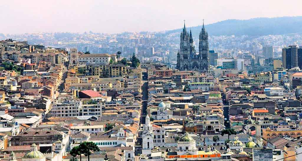 turismo no Equador Quito