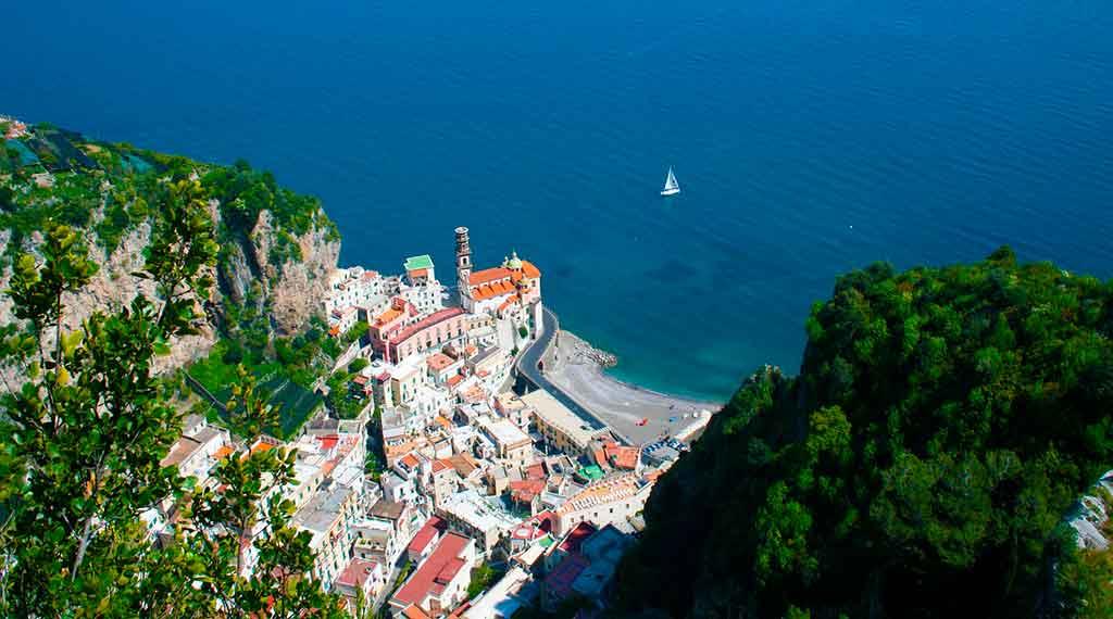 Centro histórico da Costa Amalfitana