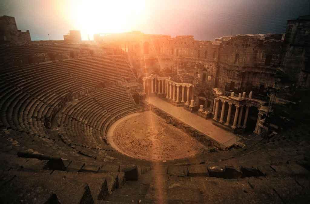 lyon frança Amphitheatre of the Three Gauls