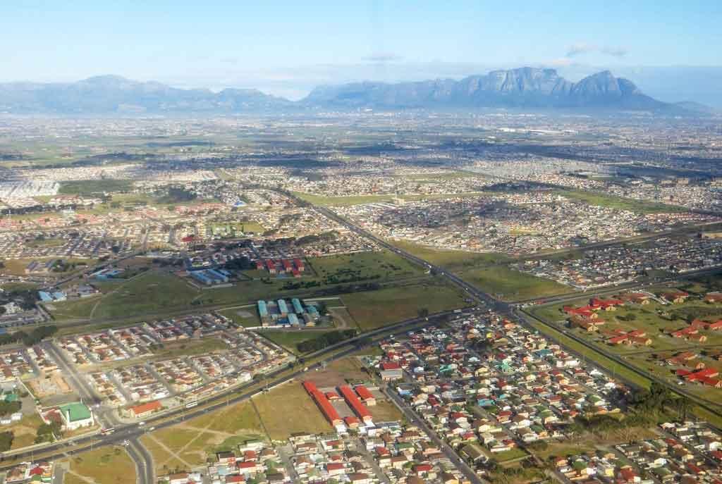 Distância de Joanesburgo até Cidade do Cabo