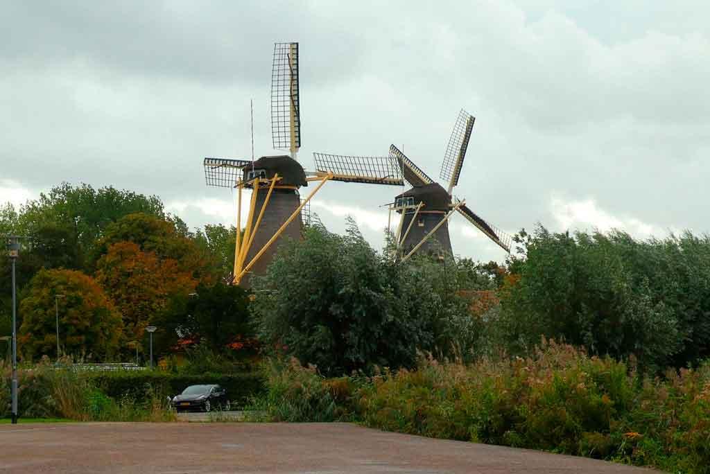 Rotterdam moinhos de kinder dijk
