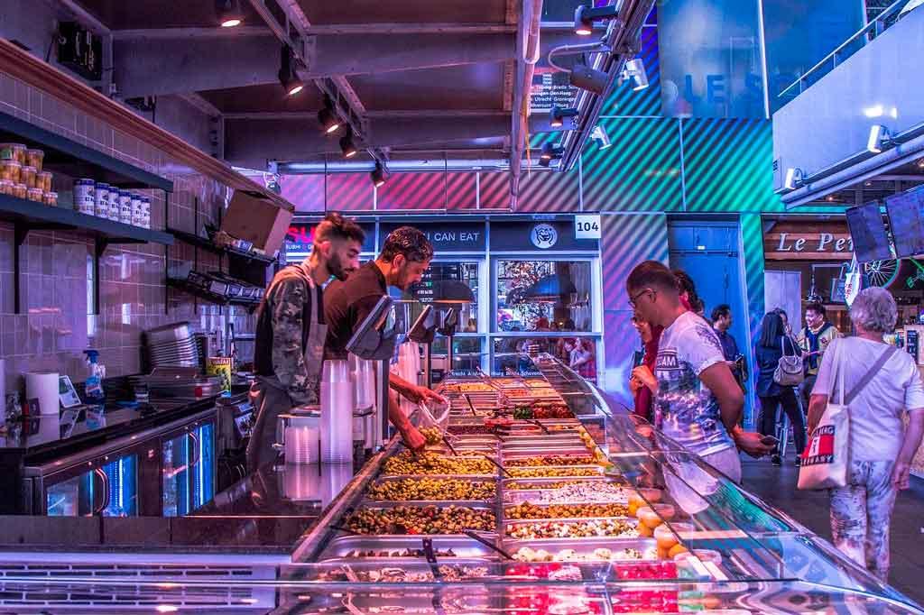 Rotterdam o que comer