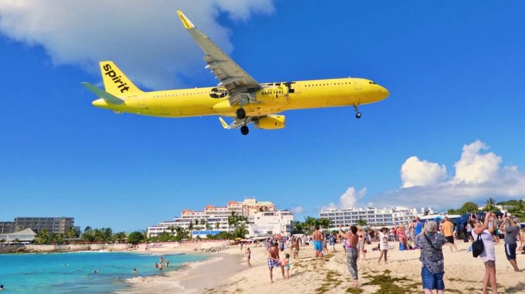 San Martin no Caribe: aeroporto