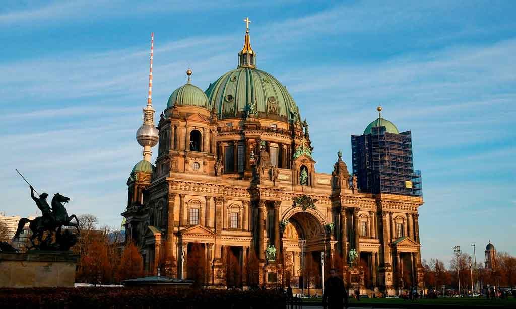 turismo em berlim catedral de berlim