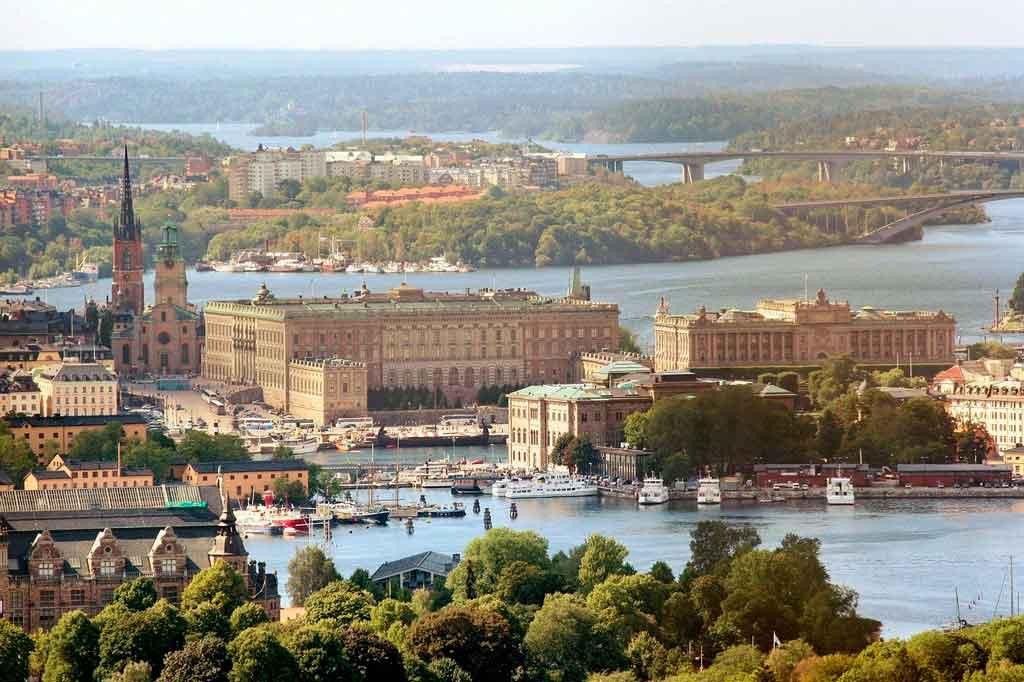 Cidades da Europa Estocolmo