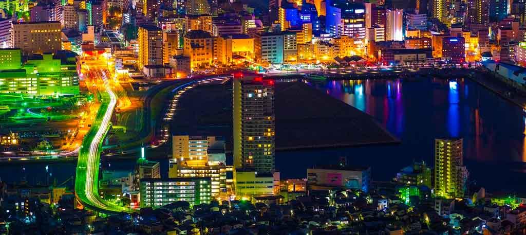 Cidades do Japão Nagasaki