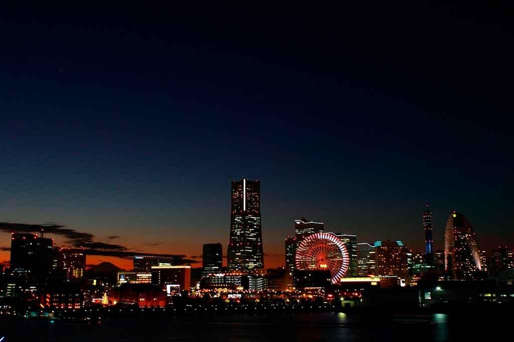 Cidade do Japão Yokohama