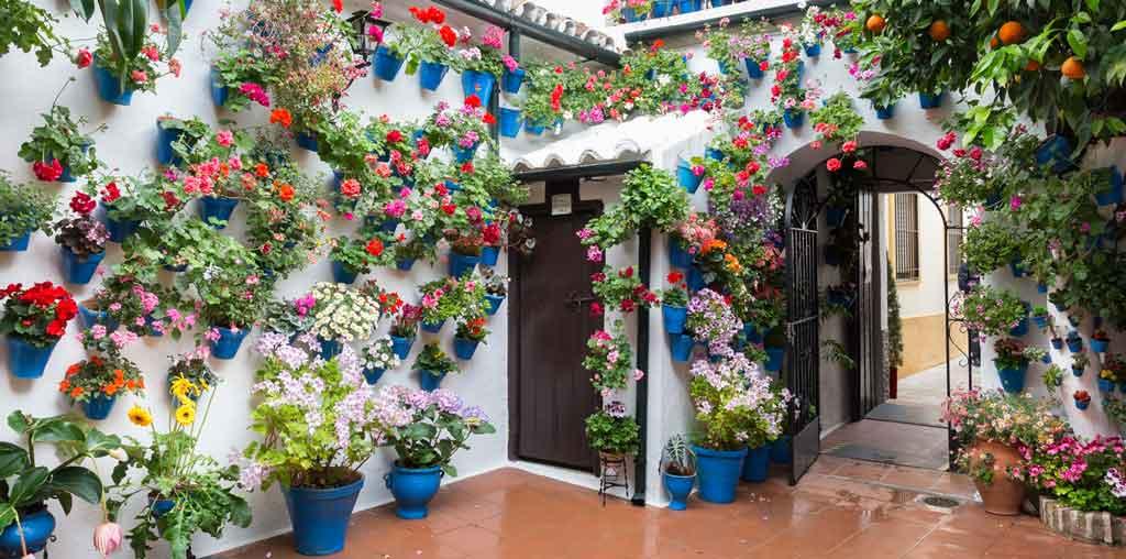 Córdoba Espanha Calleja de las flores