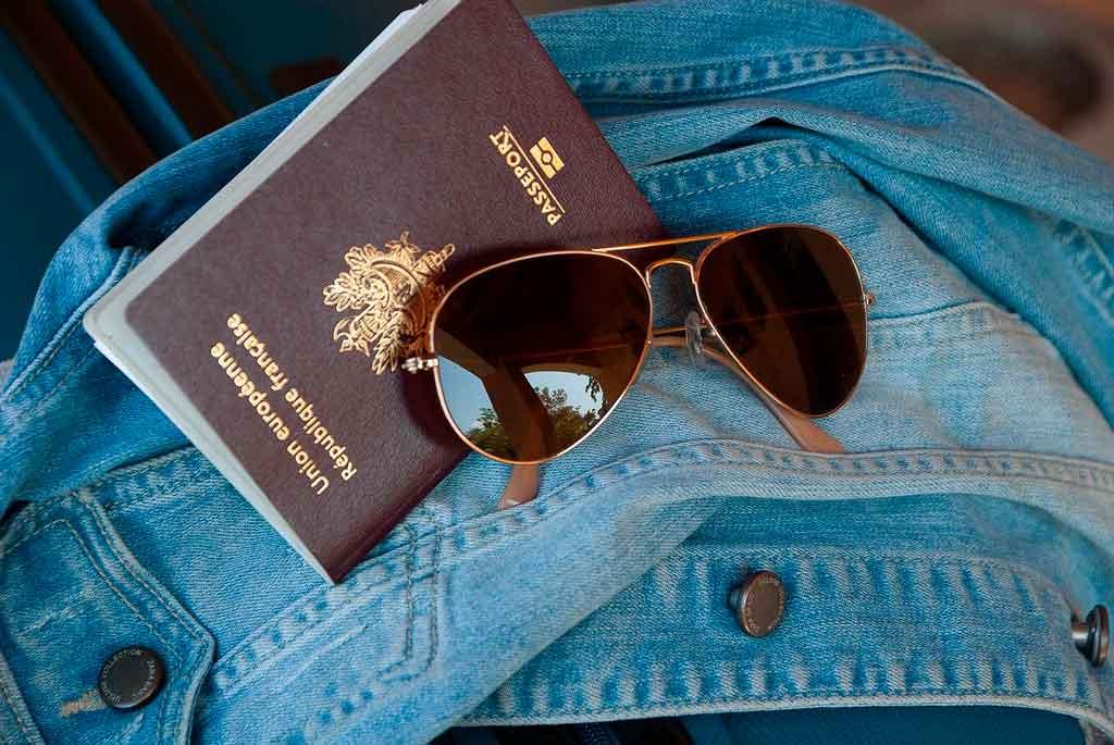 Passaporte europeu capa