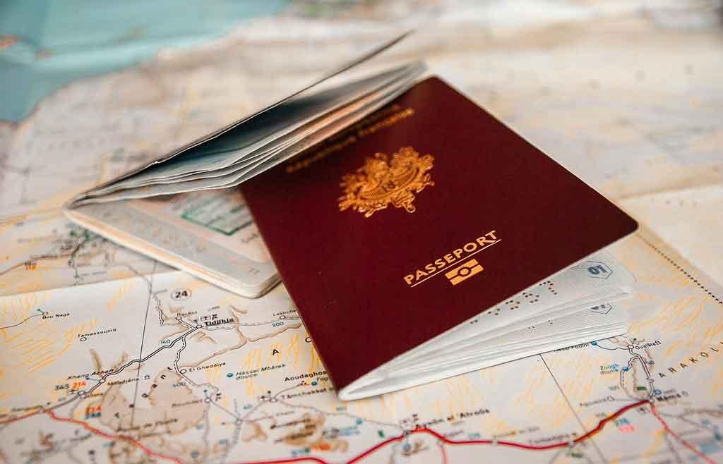 Passaporte europeu como tirar
