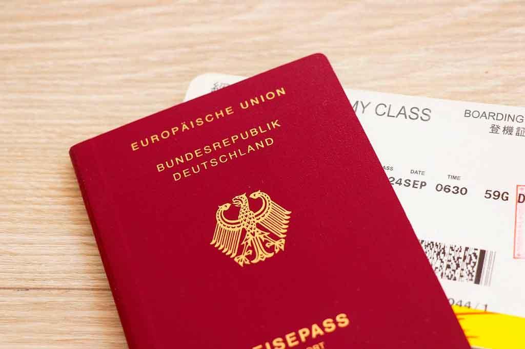 Passaporte europeu documentos necessarios