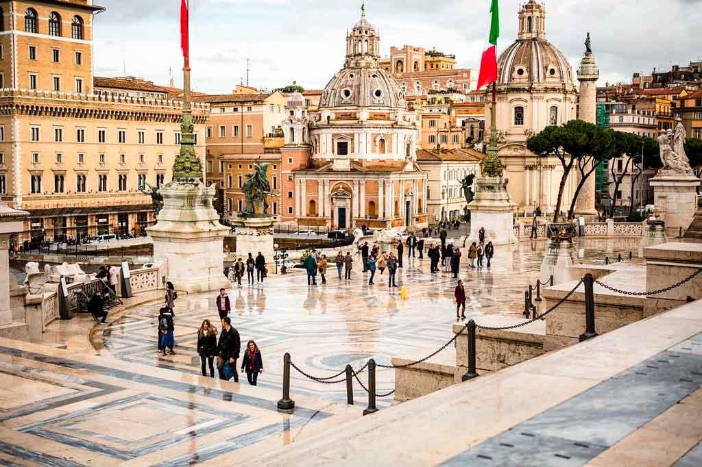 Passeios em Roma com chuva