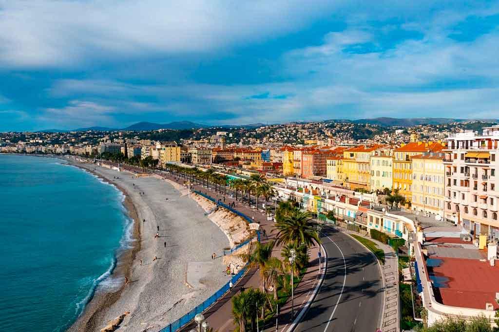 Verão na Europa Costa Azul
