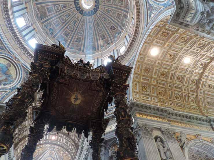 Passeios em Roma: Basílica de São Pedro