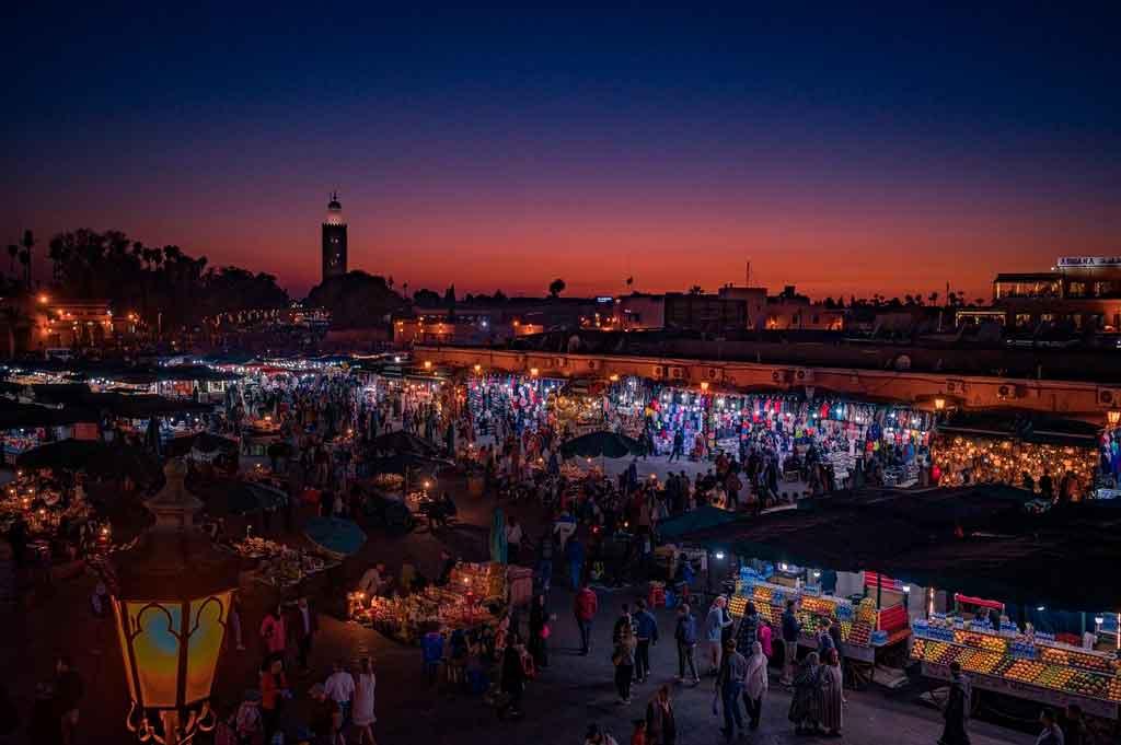 Cidades do Marrocos onde está localizada