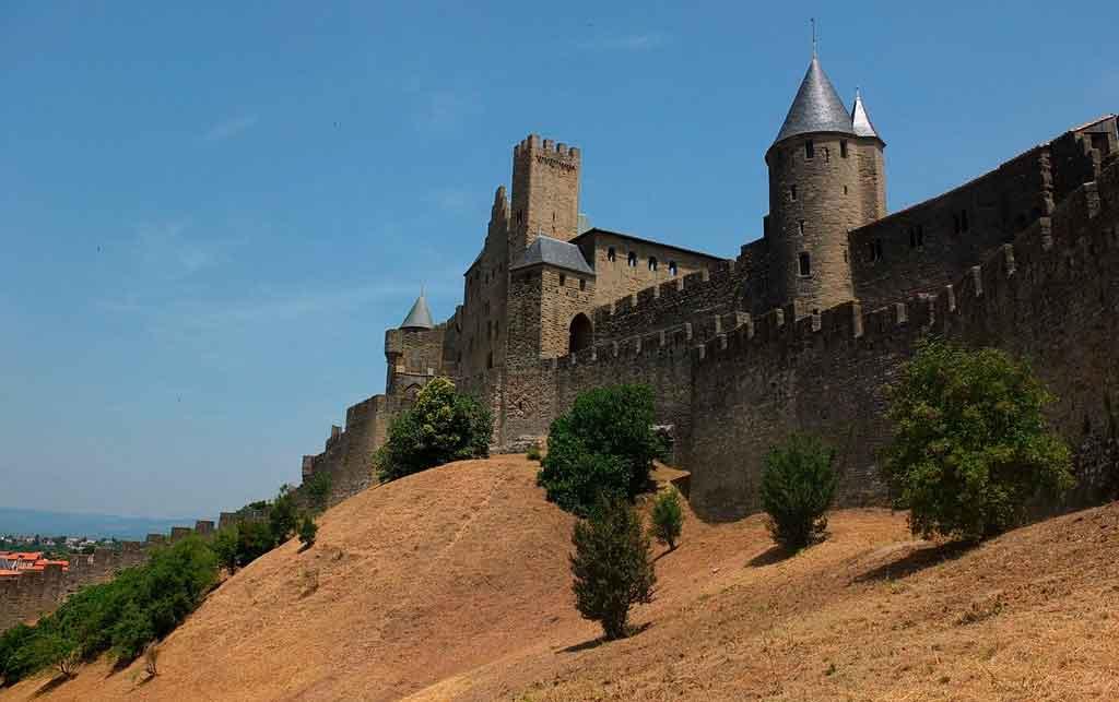 Cidades medievais carcassone