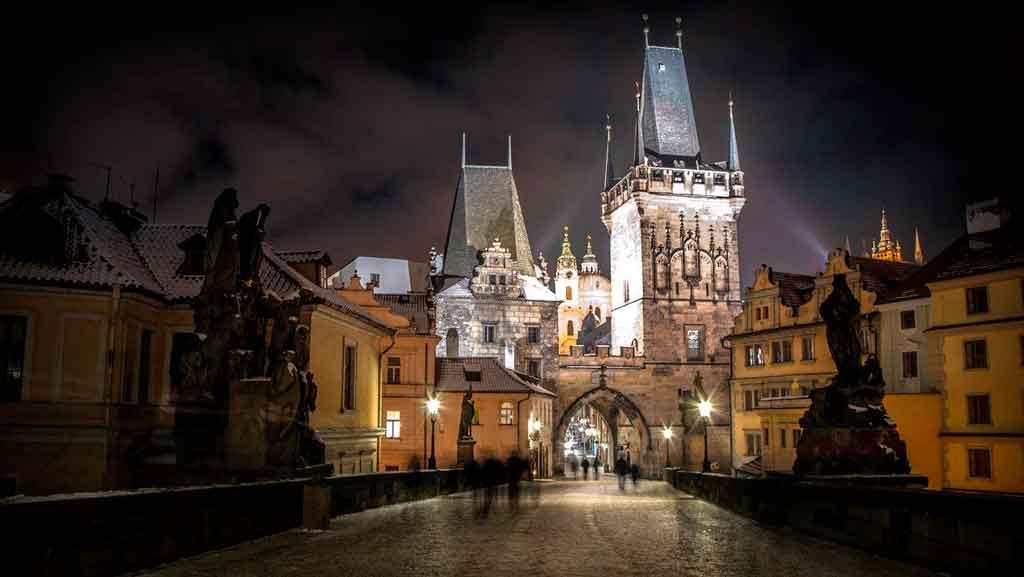 Cidades medievais em quais países ficam