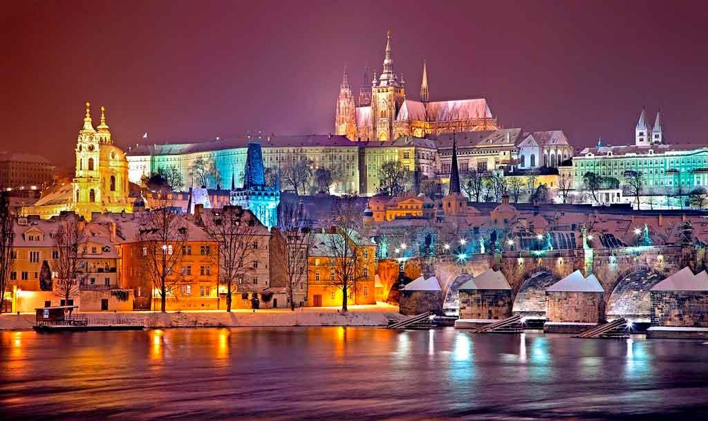 Cidades medievais Praga