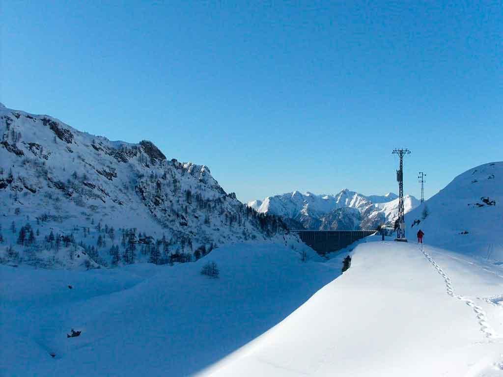 Inverno na Itália Lombardia