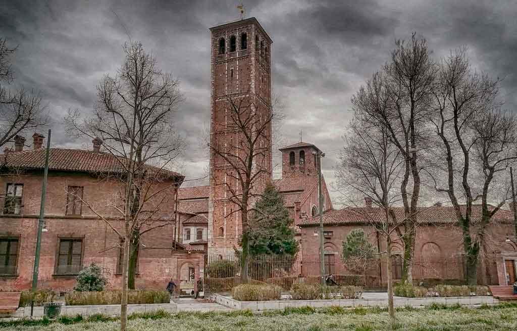 Inverno na Itália Milão