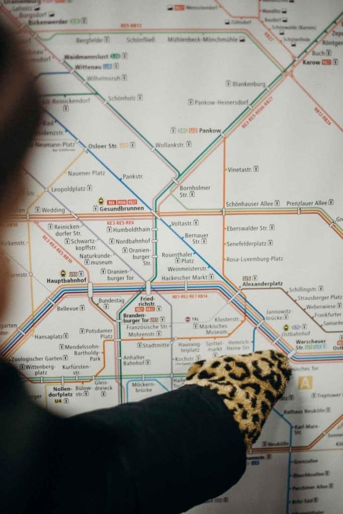Metrôs de Nova York Mapa