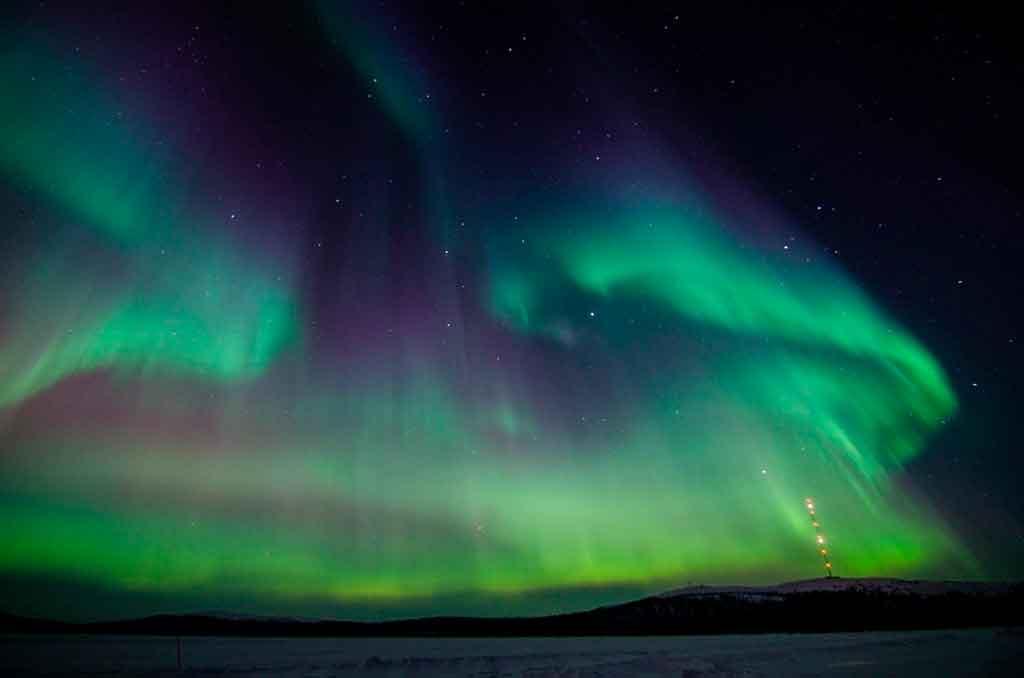 O que fazer na Suécia Aurora boreal