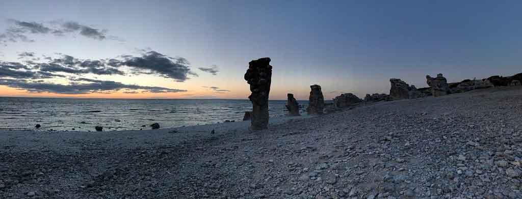 O que fazer na Suécia praias de Gotland