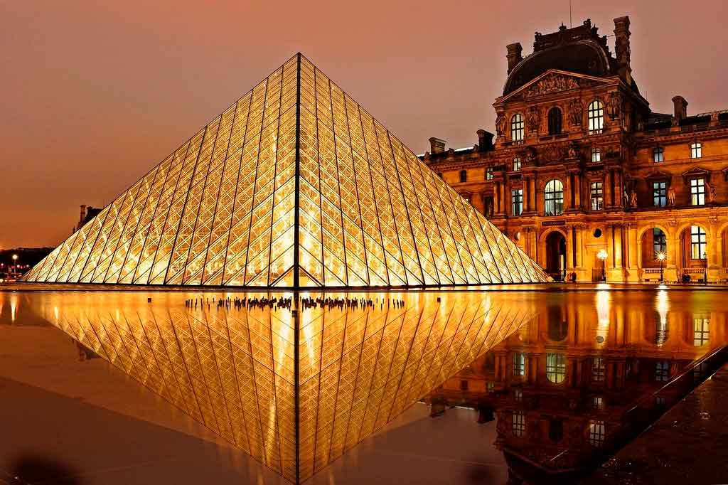 Paris com crianças museu do Louvre