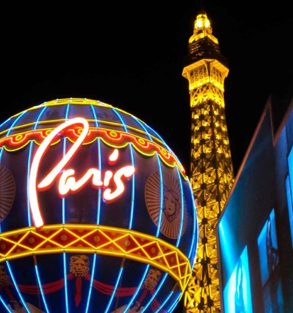 Paris com crianças parque de diversão