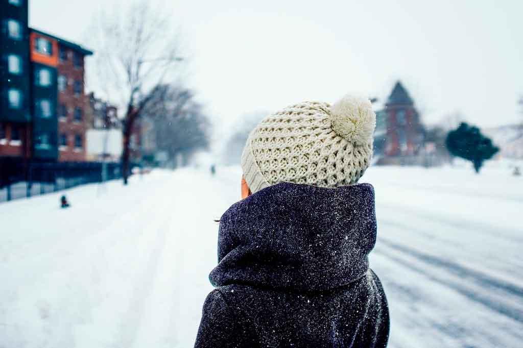 Roupas para neve capa
