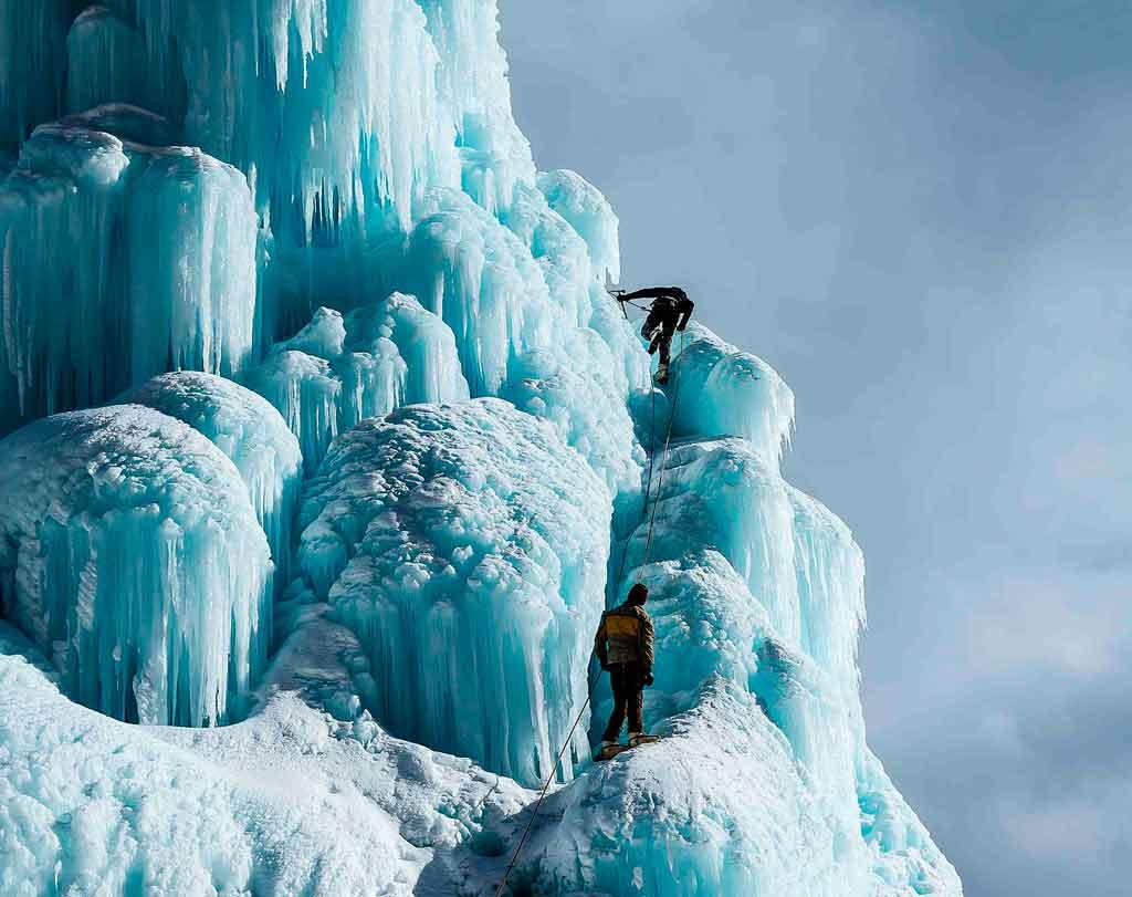Roupas para neve trekking