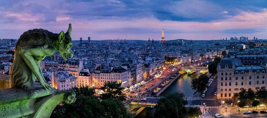 Seguro viagem para Europa França