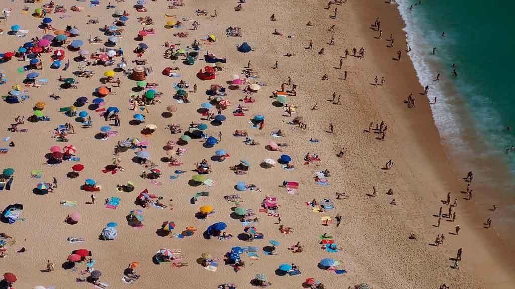 Turismo em Portugal Praia de Galé