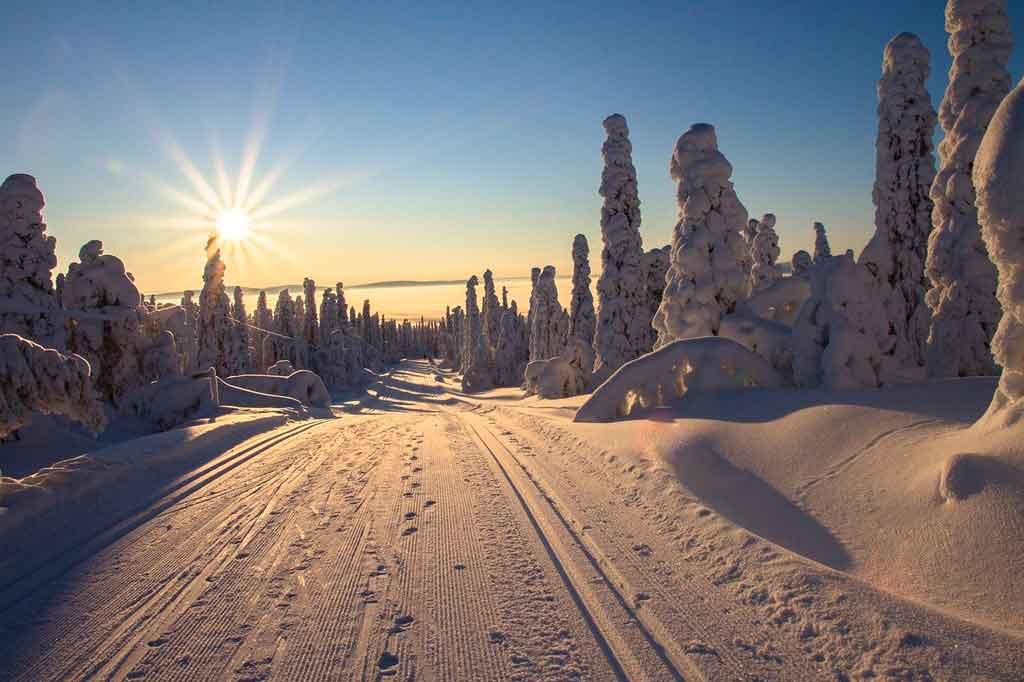 Turismo na Finlândia Lapônia