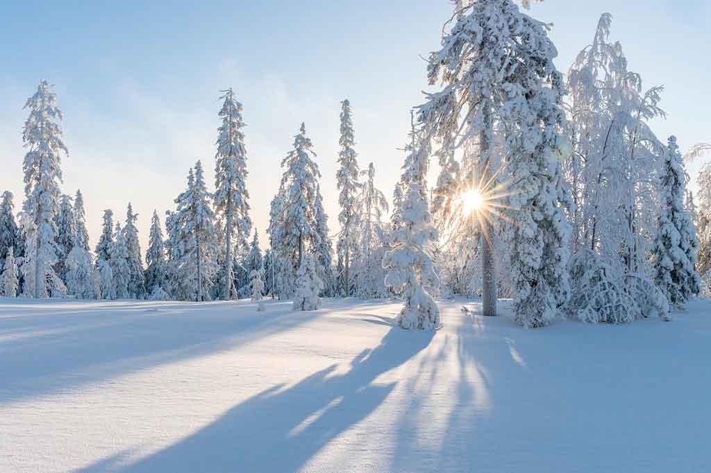Turismo na Finlândia no inverno