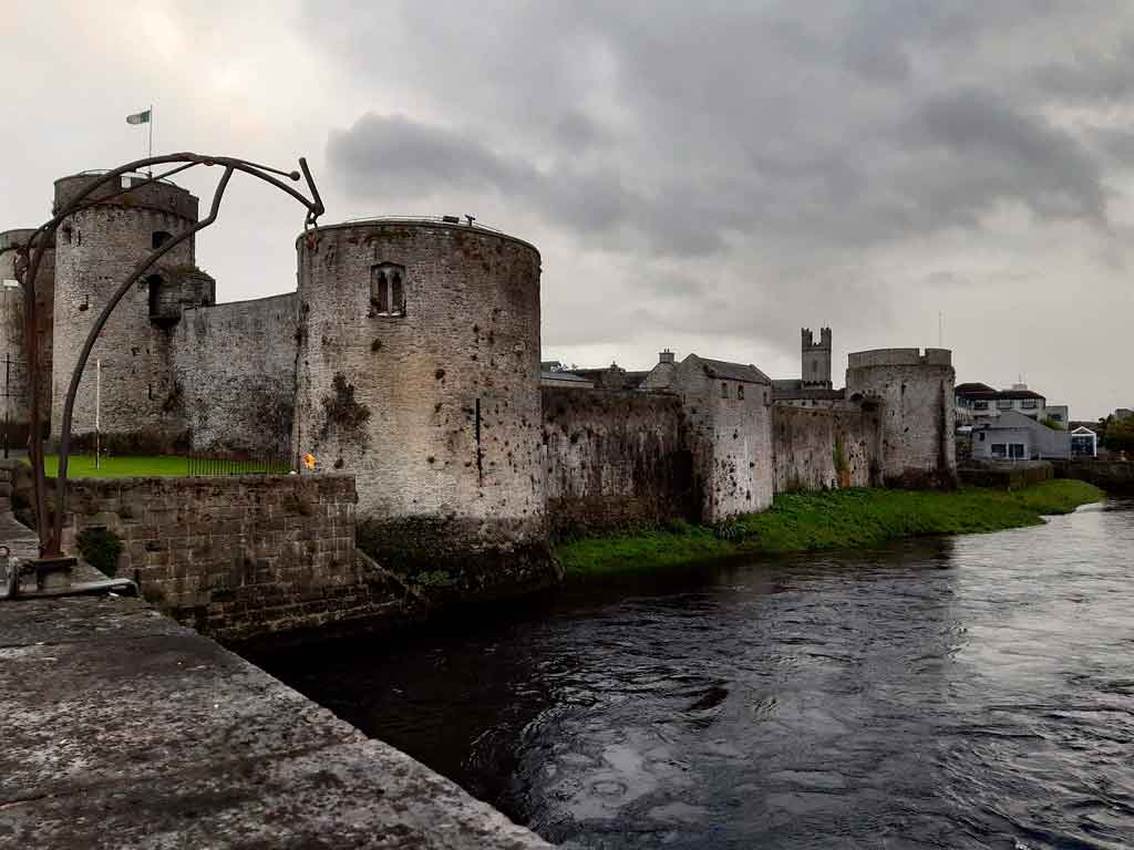 Turismo da Irlanda castelo do Rei João