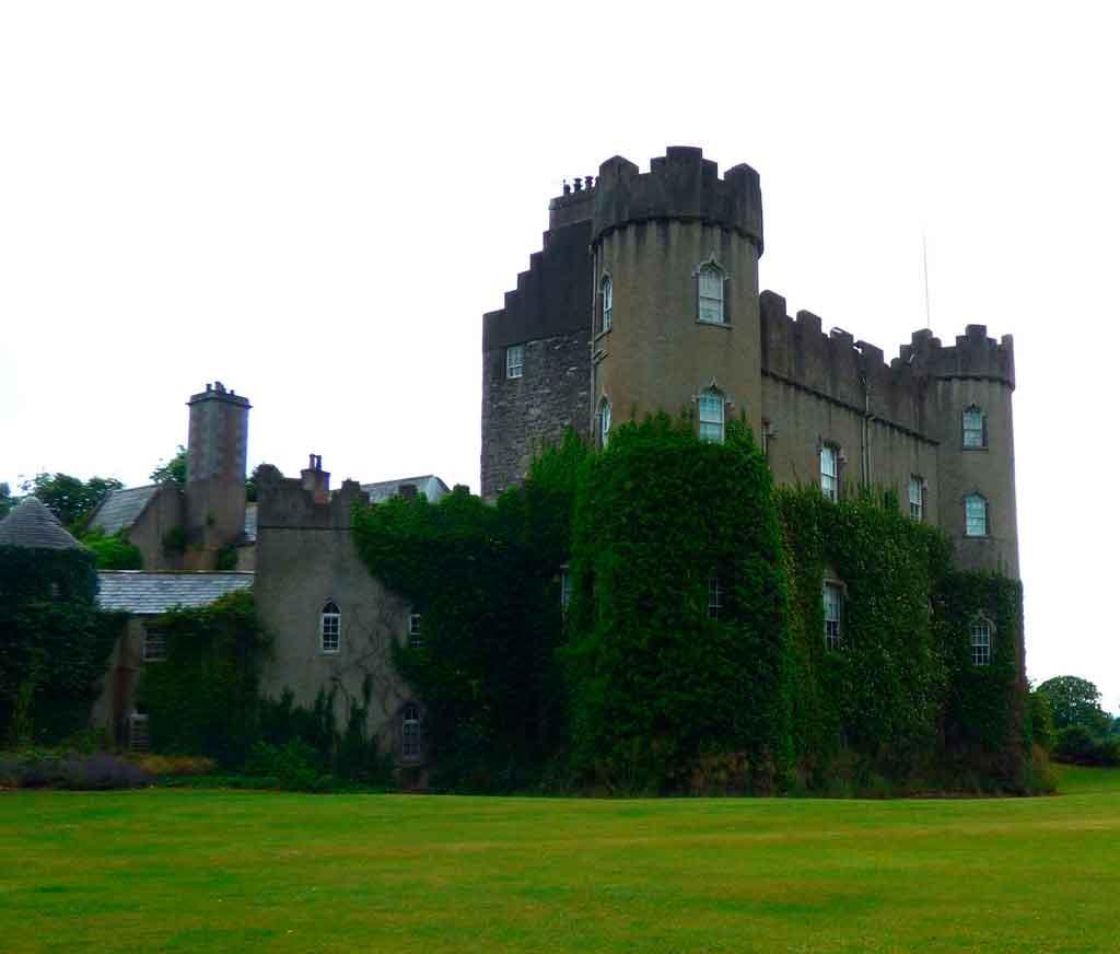 Turismo na Irlanda castelo Malahide