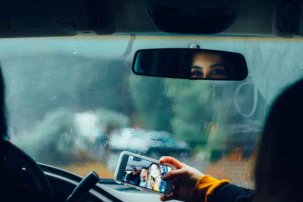 Viajar de carro companhia