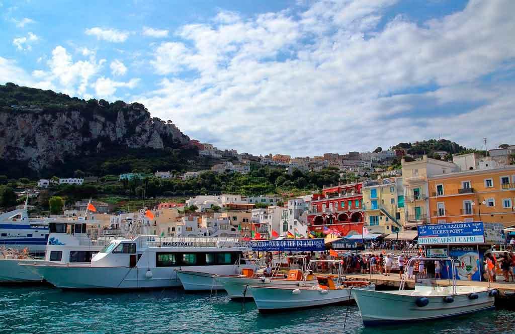 Capri Itália como ir