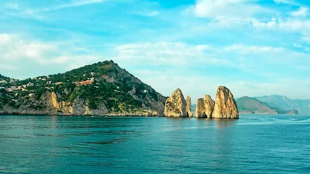 Capri Itália em um dia