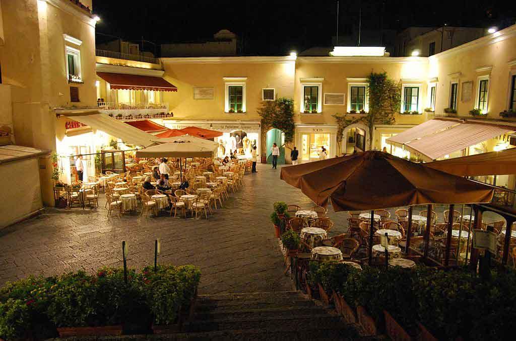 Capri Itália la piazzeta