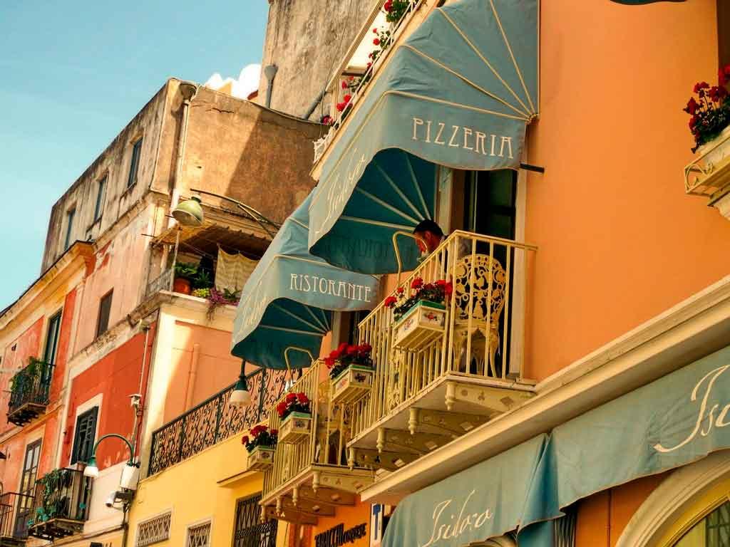Capri Itália o que comer