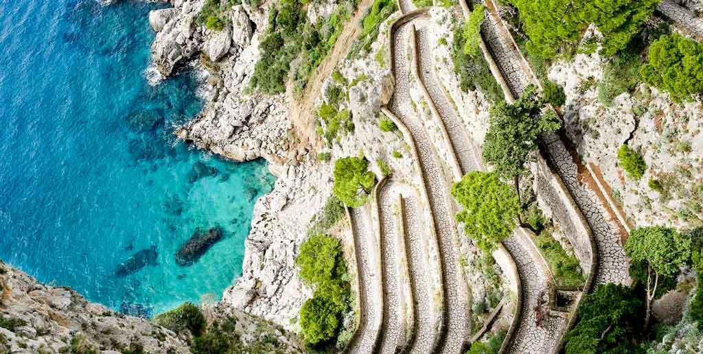 Capri Itália viakrupp